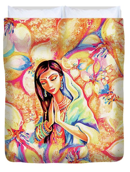 Little Himalayan Pray Duvet Cover