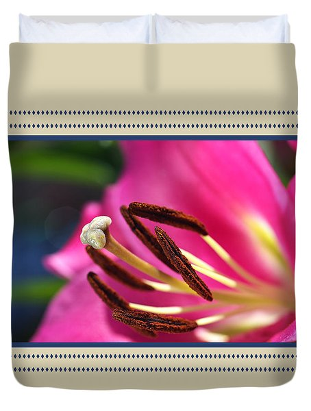 Hot Is Lily Duvet Cover