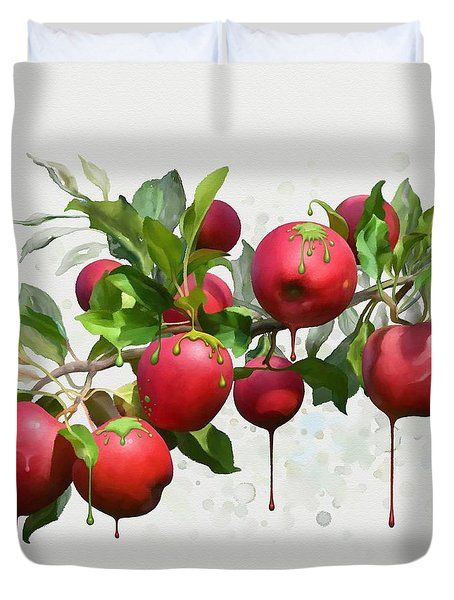Melting Apples Duvet Cover