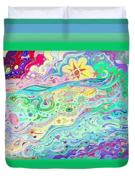 Beltaine Seashore Dreaming Duvet Cover