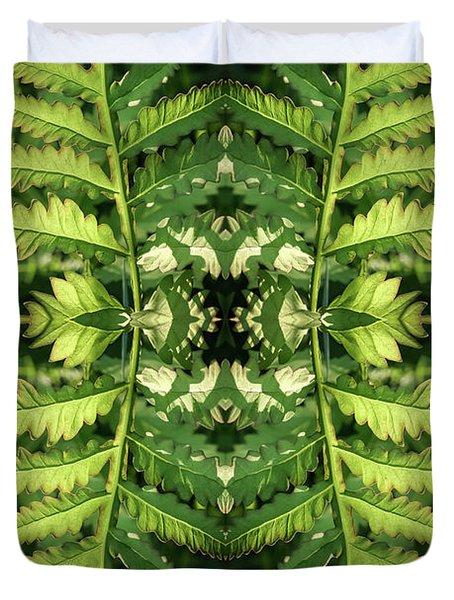 Roadside Fern - Duvet Cover
