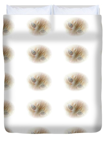 Magic Eyes Duvet Cover