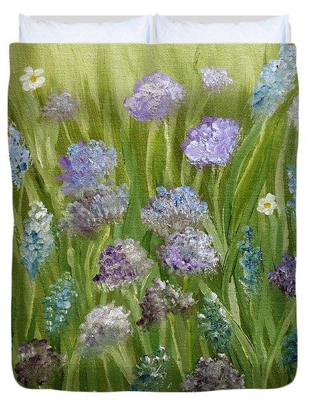 Flowers Field Duvet Cover
