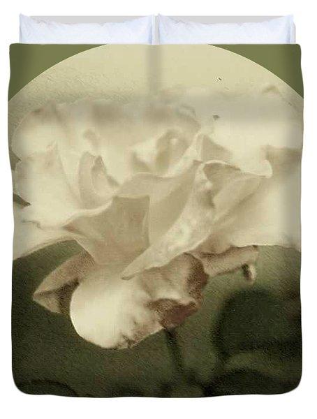 Faded Rose Duvet Cover