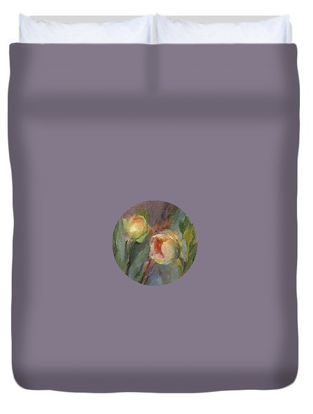 Evening Bloom Duvet Cover