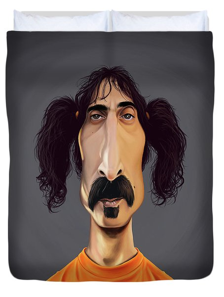 Celebrity Sunday - Frank Zappa Duvet Cover