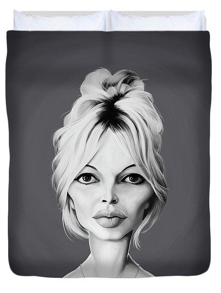 Celebrity Sunday - Brigitte Bardot Duvet Cover