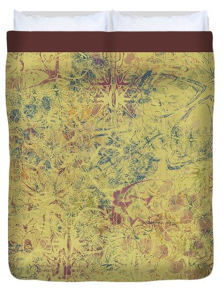 Fleur De Lis Duvet Cover