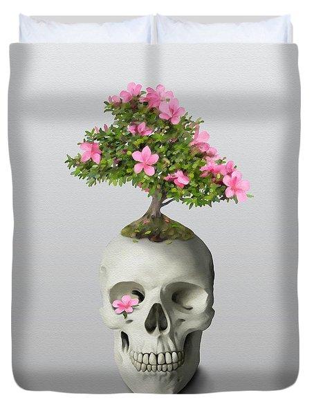 Bonsai Skull Duvet Cover