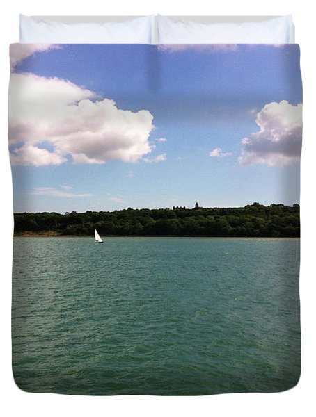 Lone Sailor Duvet Cover