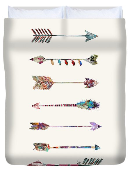 7 Arrows Duvet Cover