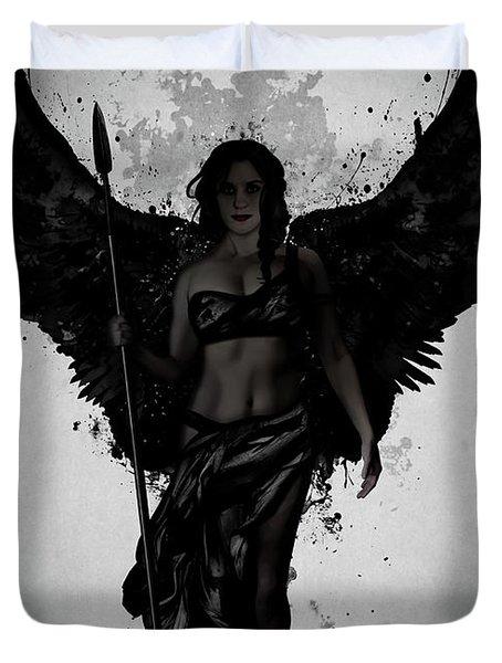 Dark Valkyrja Duvet Cover