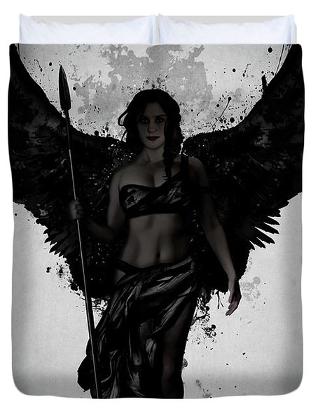 Dark Valkyrja Duvet Cover