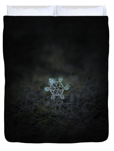 Real Snowflake - Slight Asymmetry New Duvet Cover