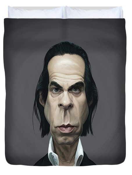Celebrity Sunday - Nick Cave Duvet Cover