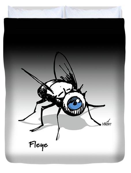 Fleye Duvet Cover