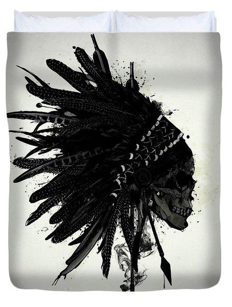Warbonnet Skull Duvet Cover