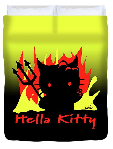 Hella Kitty Duvet Cover