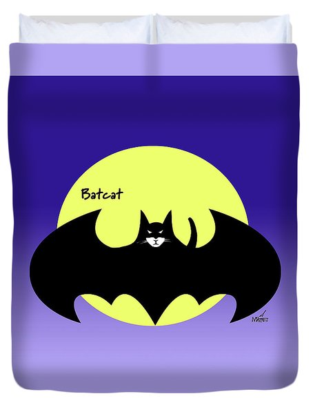 Batcat Duvet Cover