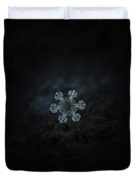Real Snowflake - Ice Crown New Duvet Cover