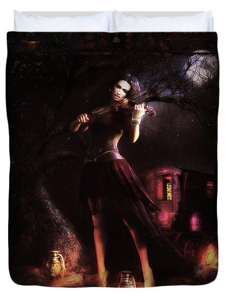 Gypsy Moon Duvet Cover