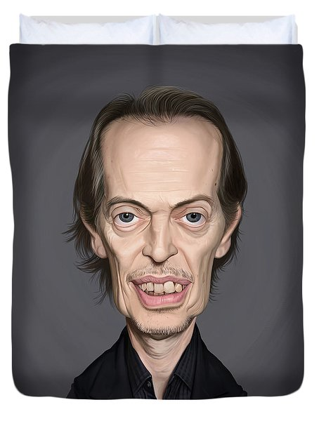Celebrity Sunday - Steve Buscemi Duvet Cover