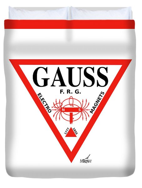 Gauss Duvet Cover
