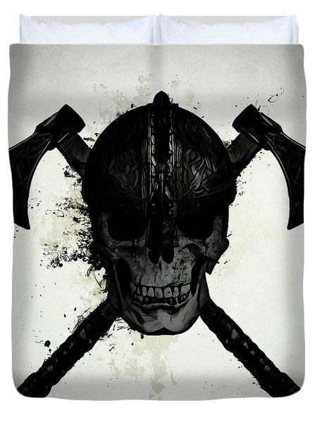 Viking Skull Duvet Cover