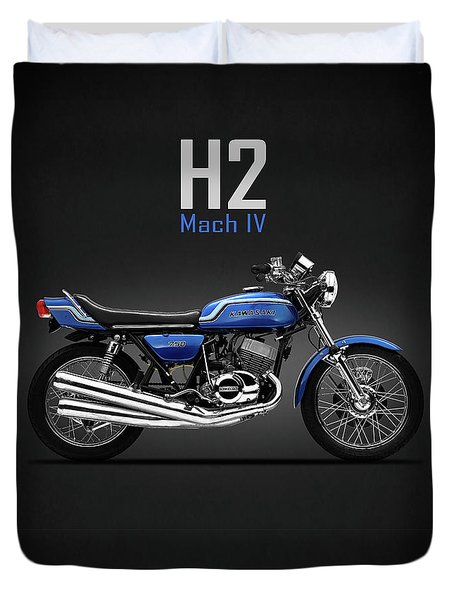 The H2 Mach Iv Duvet Cover