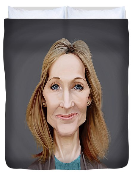 Celebrity Sunday - J.k.rowling Duvet Cover