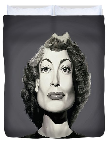 Celebrity Sunday - Joan Crawford Duvet Cover