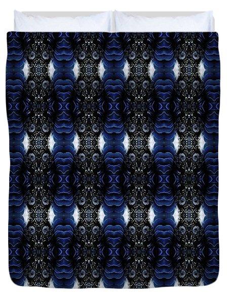 Fibonacci Cockatoo Duvet Cover