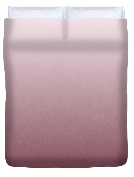 Cheese Puff Face - Roseate Spoonbill Duvet Cover