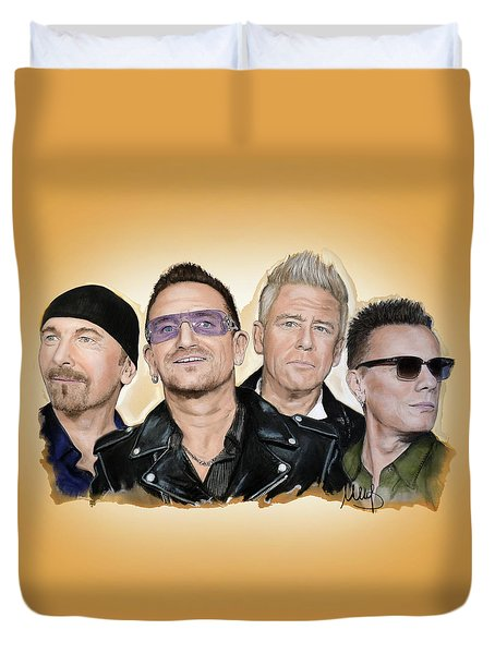 U2 Band Duvet Cover
