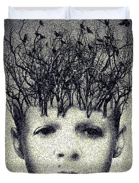 My Mind Duvet Cover