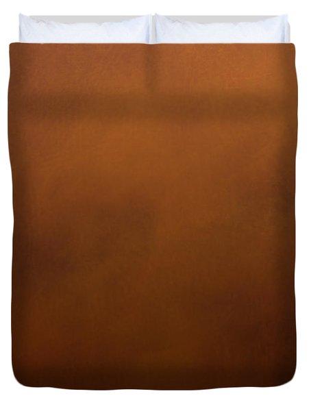 Contented Orangutan Duvet Cover