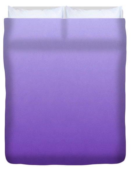 Purple Iris Flower Duvet Cover