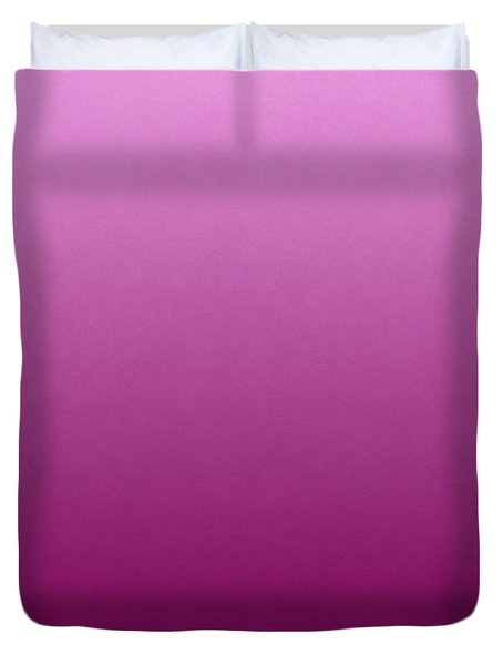 Pink Orchid Flowers Duvet Cover