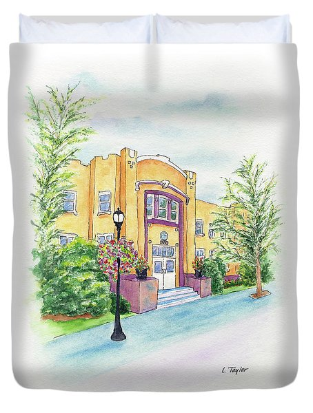 Historic Armory Duvet Cover