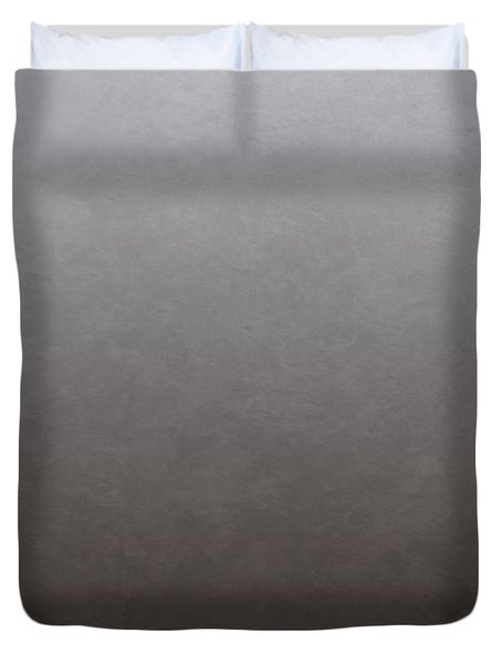 Pink-backed Pelican Rear View Duvet Cover