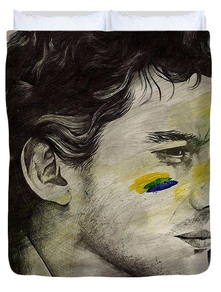 Rei Do Brasil - Tribute To Ayrton Senna Da Silva Duvet Cover