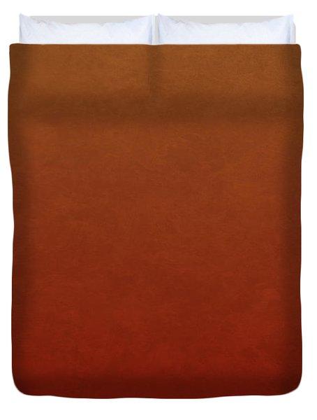 Orange Julia Butterfly Duvet Cover