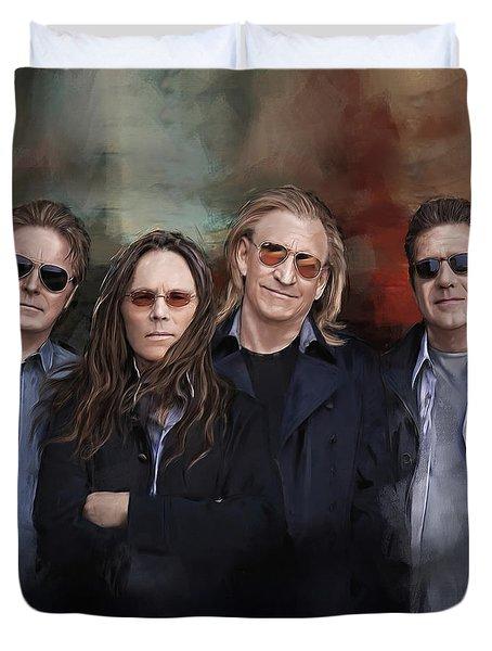 Eagles Band Duvet Cover