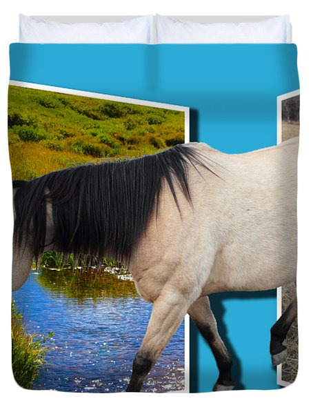 The Grass Is Always Greener On The Other Side Duvet Cover