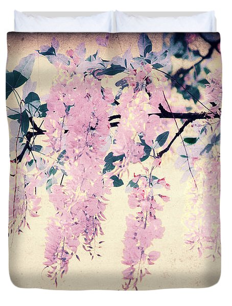 It's Springtime Duvet Cover by Angela Doelling AD DESIGN Photo and PhotoArt
