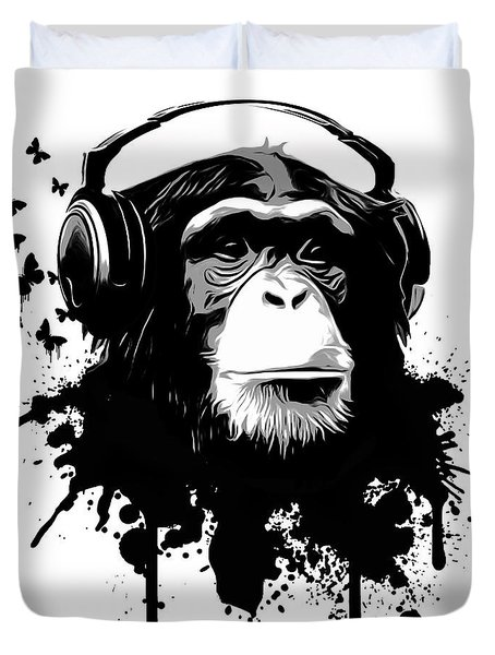 Monkey Business Duvet Cover