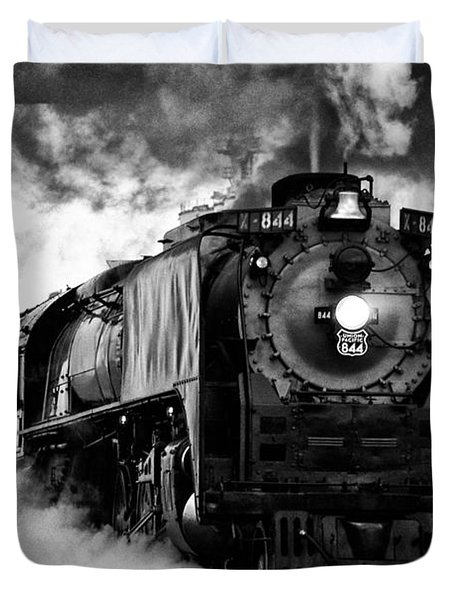 Up 844 Steaming It Up Duvet Cover