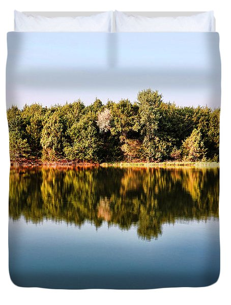 When Nature Reflects Duvet Cover