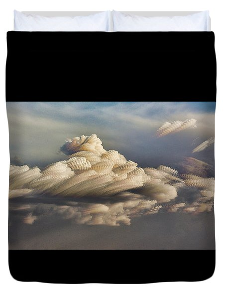 Cupcake In The Cloud Duvet Cover
