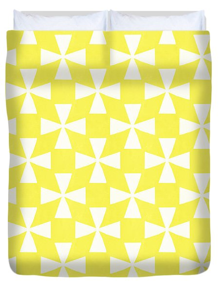 Citrus Twirl Duvet Cover